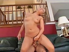 Blonde Schoolbabe Graduates in Cock Sucking