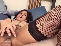 Horny Shemale Goes Down on a Dick in a POV Sex Scene