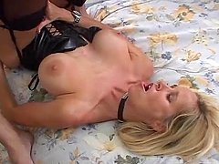 Totally Tabitha the hot MILF gets ass fucked and facialed