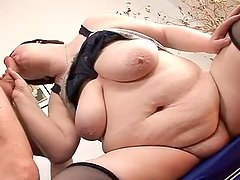 Era the big fat woman gets fucked and creampied
