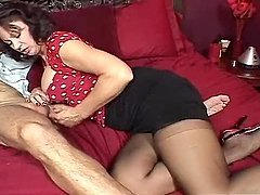 Vanessa Videl Is A Kinky Mom Sucking On A Black Cock