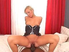 Angelina Love Has Her First Black Cock