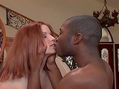 Sexy Redhead Phoebe Gets Black Balled in a Dirty Video