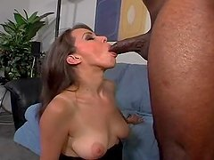 Jizz My Mouth Oh Mighty Black Cock!