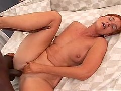 Mature Woman Fucked By Black Cock.