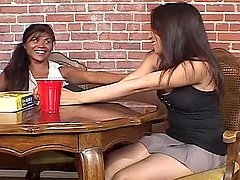 Hot Action With Lesbian Sluts.