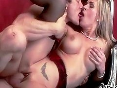 Tanya Tate the busty blonde MILF gets fucked rough