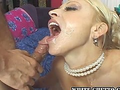 Someone's Mother is A Cock Sucking, Cum Swallowing Whore.
