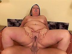 Stella Larocca the fat babe gets fucked and creampied
