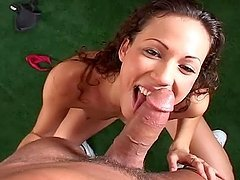Chula Sanchez does all that she can to make this cock explode with cum