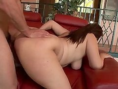 Sonia Glaze gets her ass pounded and enjoys sweet cum on her face
