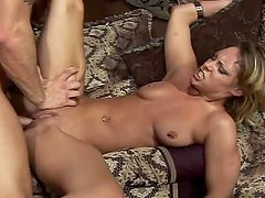 Desirable blond babe Paradice fucks for gas