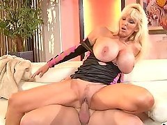 Mature MILF Is Satisfied When She Has A Younger Stud