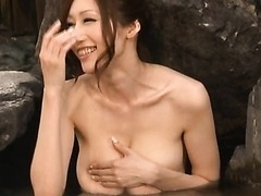Beautiful Busty Asian Sucks Cock Like There Is No Tomorrow!