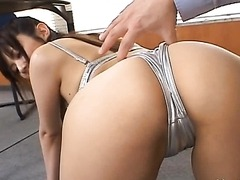 Super Hot Maora Tsukishiro Gets Fucked and Facialized in an Office
