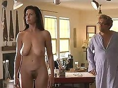 Super Sexy Mimi Rogers Shows Her Hairy Pussy and her Natural Knockers