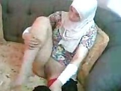 Exotic Arab Slut Gets Her Shaved Pussy Eaten in an Amateur Porn Video